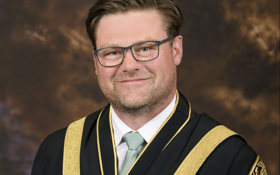 Message from the 2019 Mayor, Councillor Jonathon Marsden